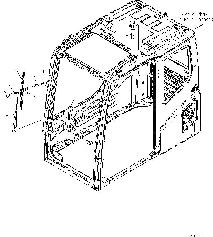 20Y-54-52211 Komatsu ГИДРАВЛ. ДВИГАТЕЛЬ