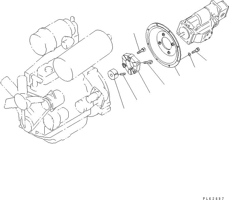 20T-01-31110 Komatsu РЕЗИНА