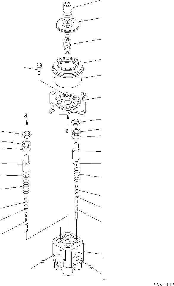 702-16-51140 Komatsu РЕГУЛИРОВОЧНАЯ ПРОКЛАДКА
