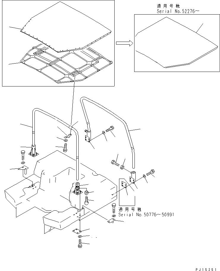 01580-11411 Komatsu ШАЙБА