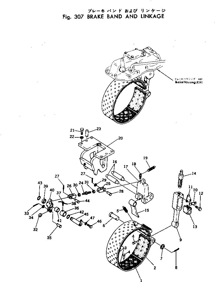 01306-10616 Komatsu ВИНТ