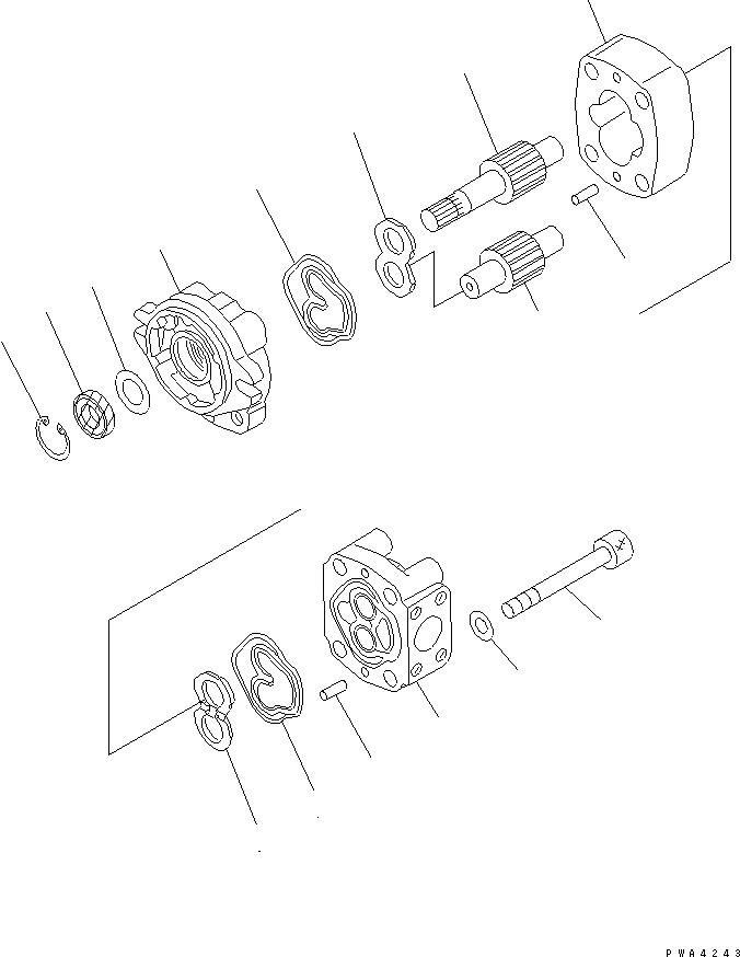 705-40-80760 Komatsu ПРОКЛАДКА