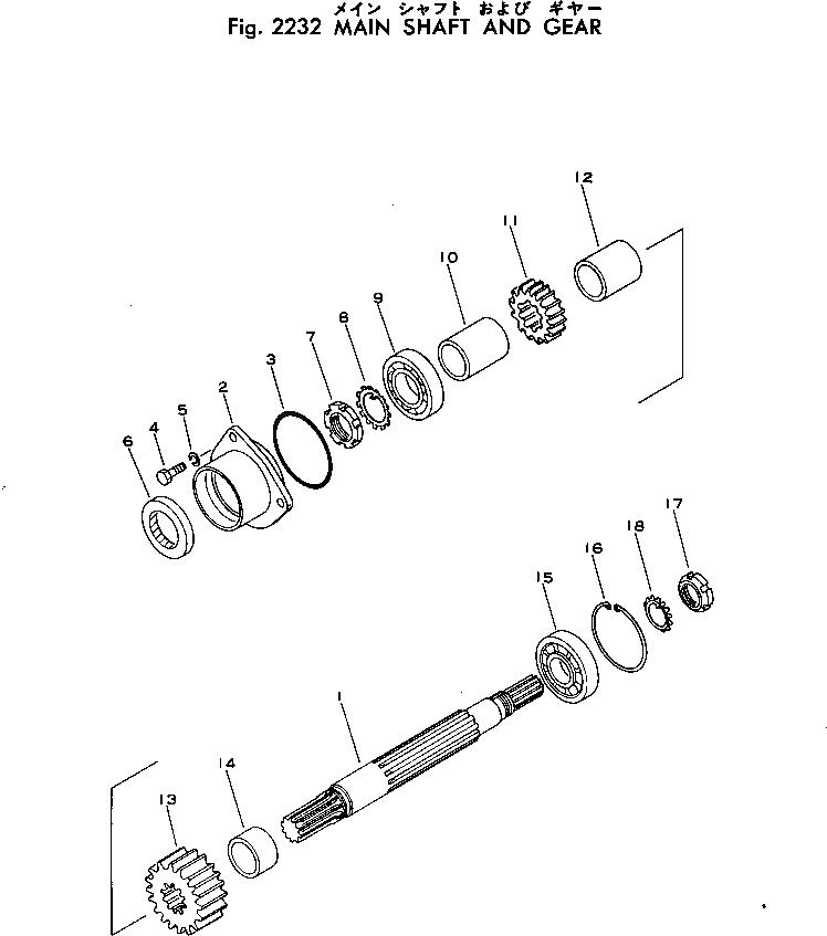 07012-00040 Komatsu САЛЬНИК