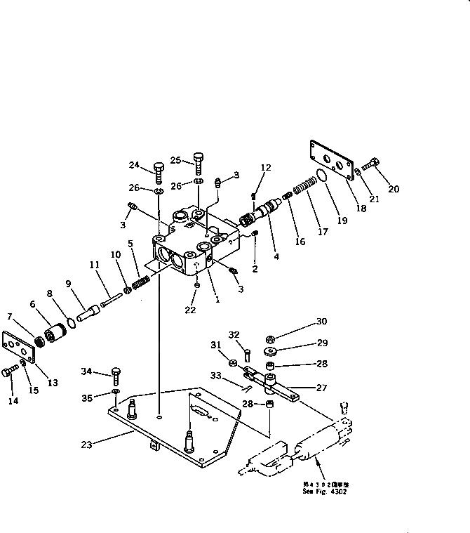 113-43-23230 Komatsu ШАЙБА