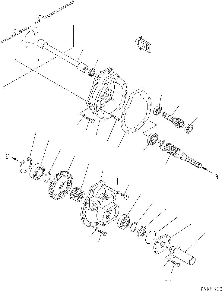 101-Z56-1121 Komatsu ПРОКЛАДКА
