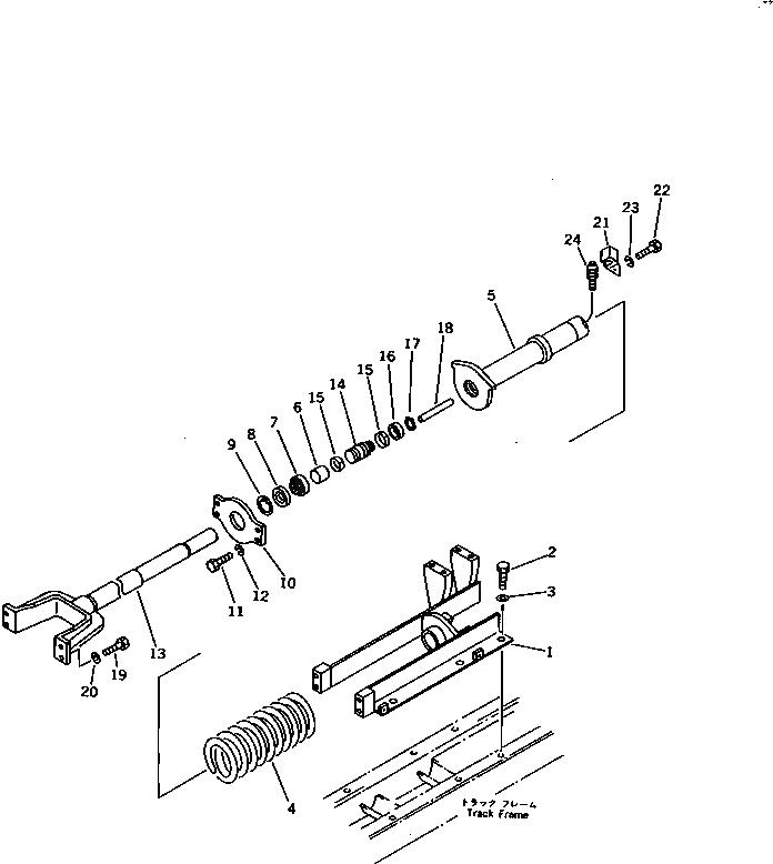 103-30-34170 Komatsu ПЛАТА