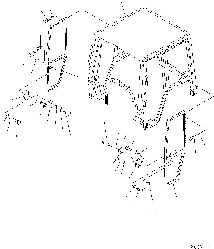 566-54-14430 Komatsu КЛЮЧ