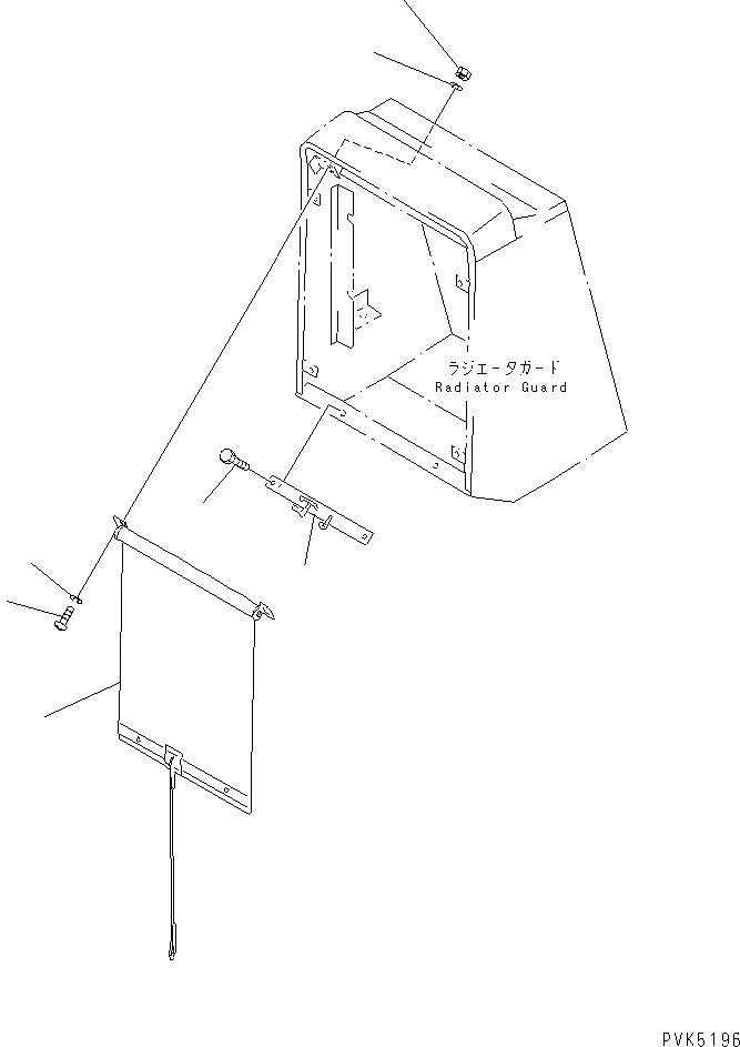 01580-10403 Komatsu ГАЙКА