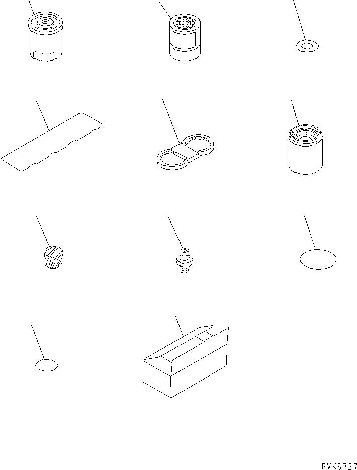07000-72095 Komatsu ПРОКЛАДКА ТИП