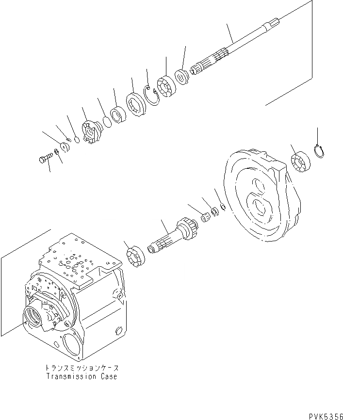 07000-F2055 Komatsu ПРОКЛАДКА ТИП