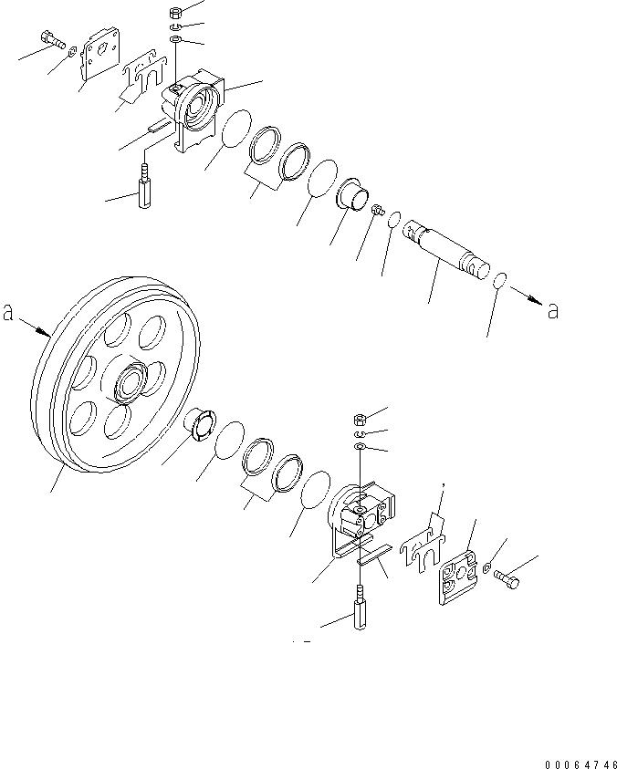 101-30-11550 Komatsu РЕГУЛИРОВОЧНАЯ ПРОКЛАДКА