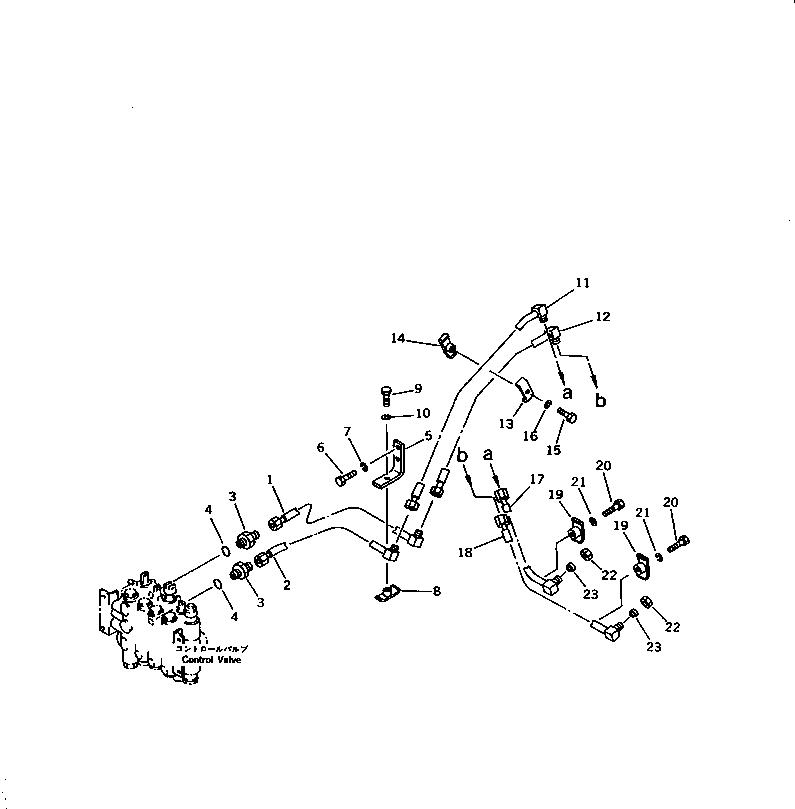 07230-20315 Komatsu МУФТА / СОЕДИНЕНИЕ