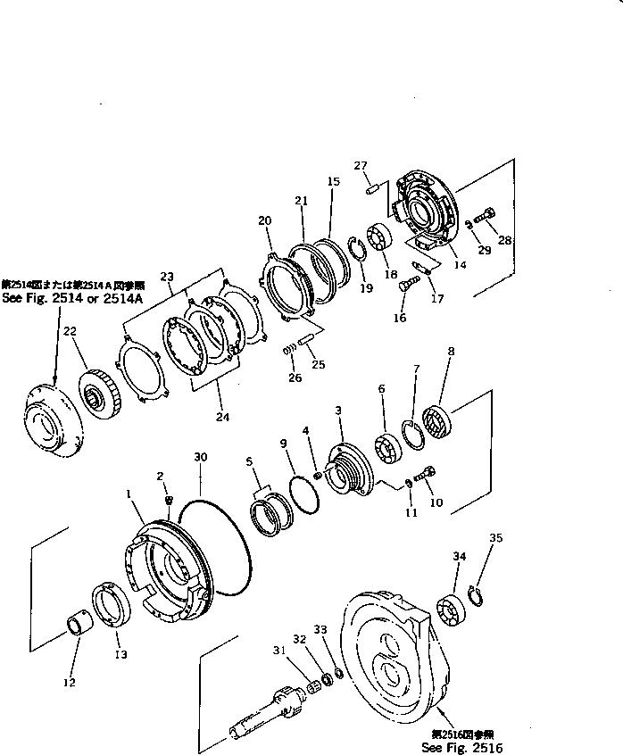 113-15-39120 Komatsu МАСЛОУПЛОТНИТЕЛЬНАЯ ПРОКЛАДКА