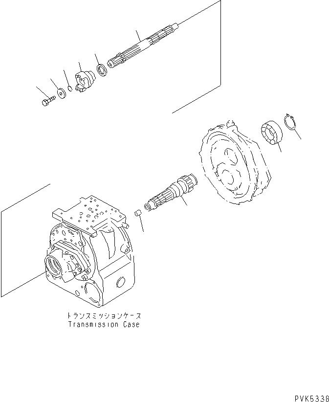 103-15-32160 Komatsu СОЕДИНИТЕЛЬНАЯ МУФТА