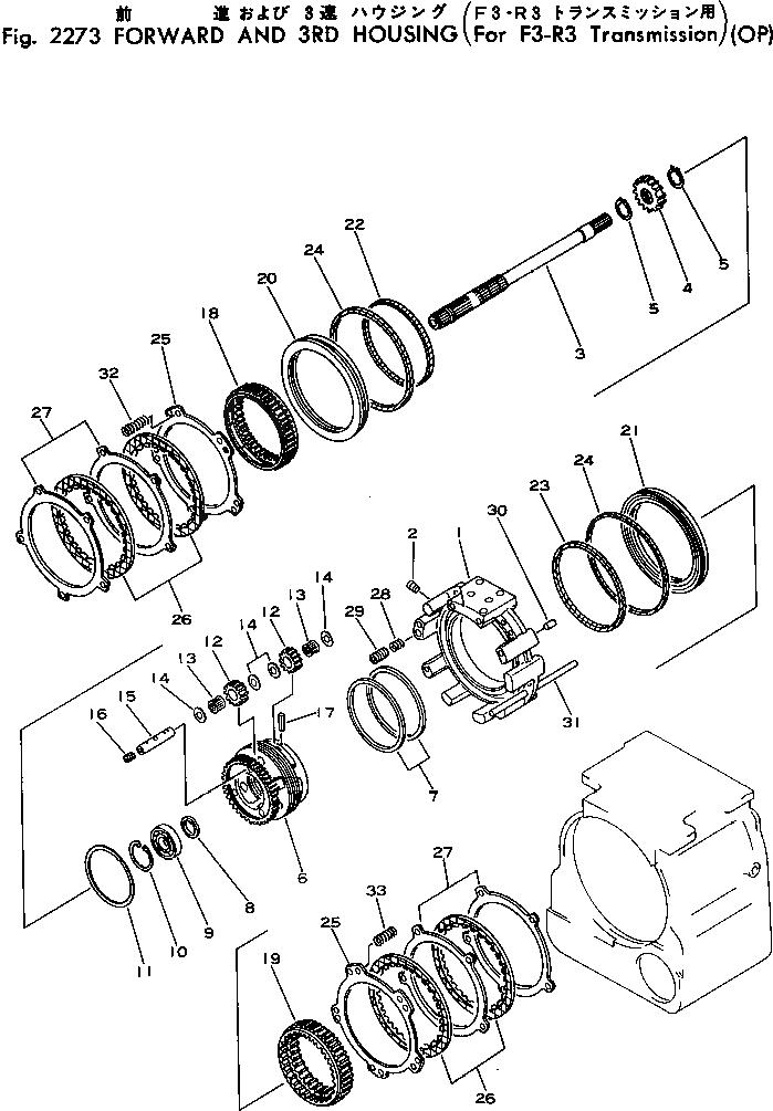 287-15-15360 Komatsu ПОРШЕНЬ