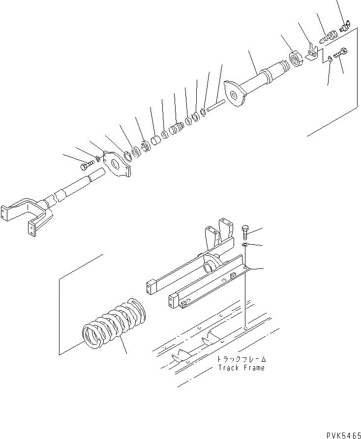 01010-81630 Komatsu БОЛТ