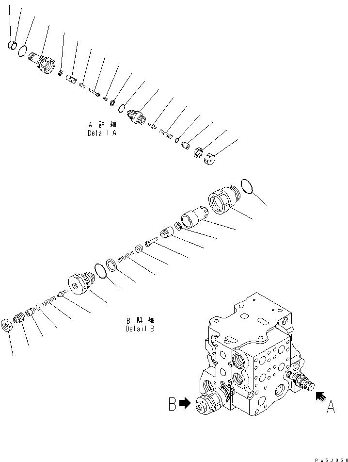 700-80-64220 Komatsu КОЛЬЦО