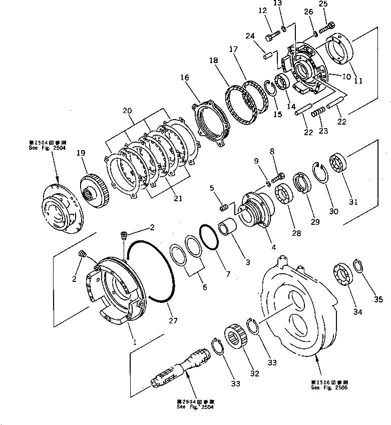 175-15-11230 Komatsu ПРОБКА / ЗАГЛУШКА