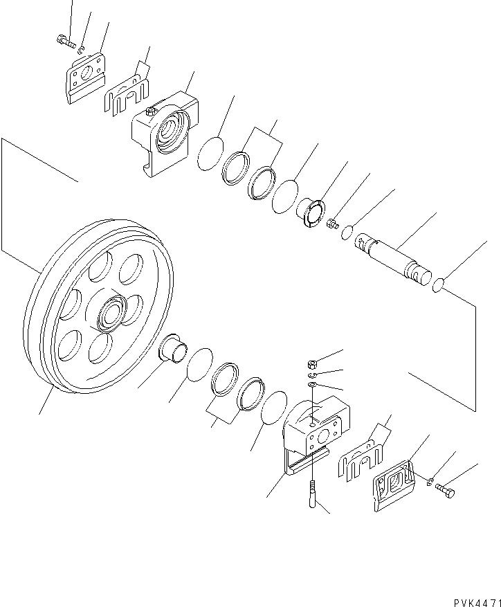 113-30-23120 Komatsu РЕГУЛИРОВОЧНАЯ ПРОКЛАДКА