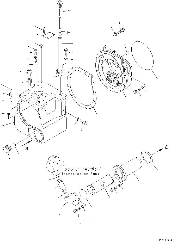 113-15-21121 Komatsu ПРОКЛАДКА