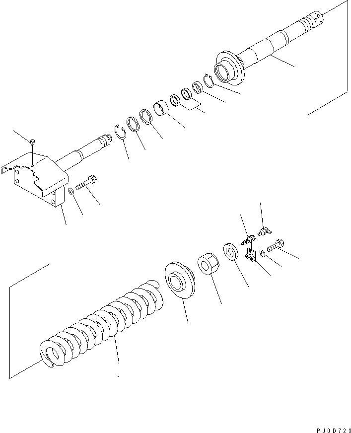 04065-07025 Komatsu СТОПОРНОЕ КОЛЬЦО
