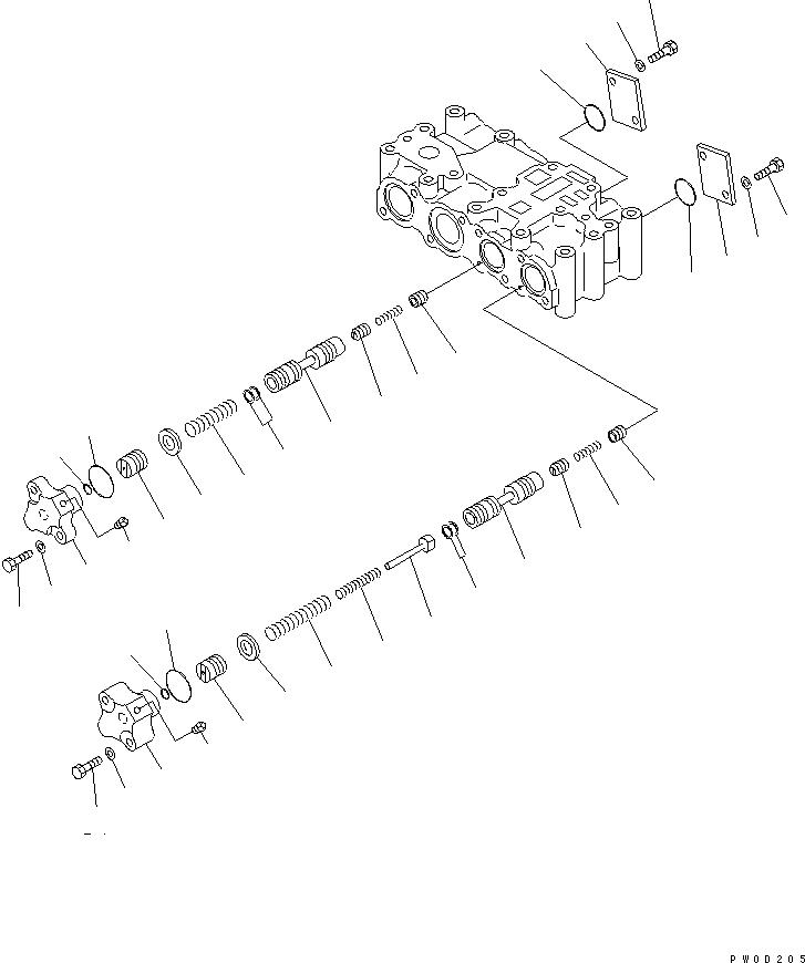 07042-80108 Komatsu ПРОБКА / ЗАГЛУШКА