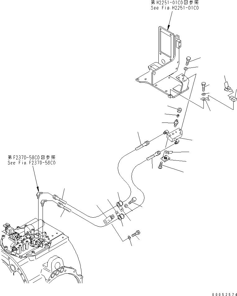 07238-10315 Komatsu КОНТАКТНАЯ ПЛАСТИНА