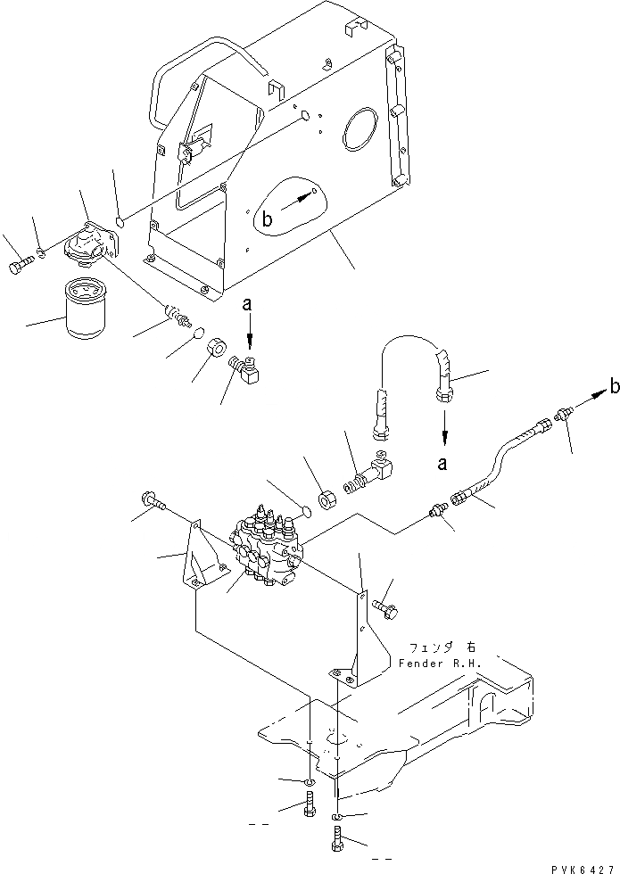 07102-20204 Komatsu ШЛАНГ