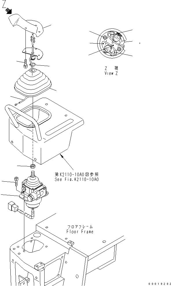11Y-43-11113 Komatsu ЭЛЕКТРОПРОВОДКА