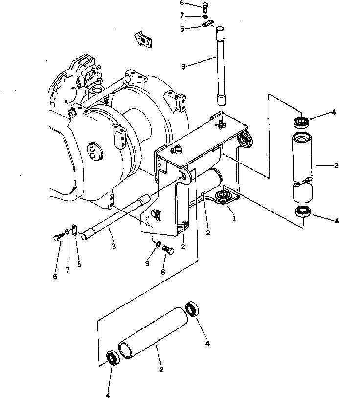 04082-00212 Komatsu ФИКСАТОР