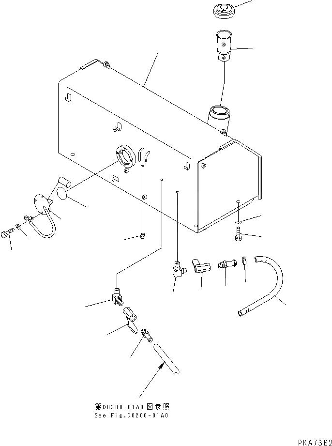 07056-18416 Komatsu СЕТЧАТЫЙ ФИЛЬТР