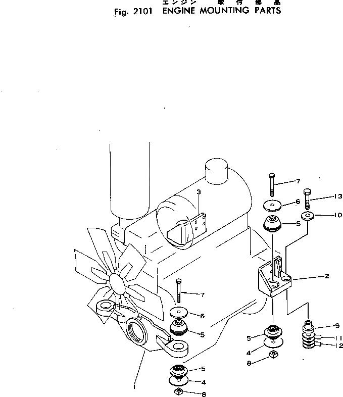 135-01-05100 Komatsu НАБОР ПРОКЛАДОК