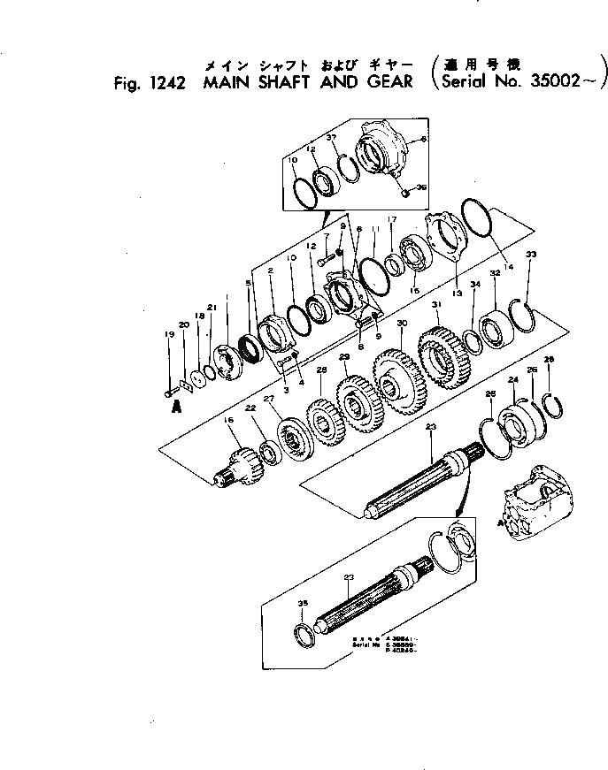 07012-10075 Komatsu МАСЛОУПЛ. ПРОКЛАДКА