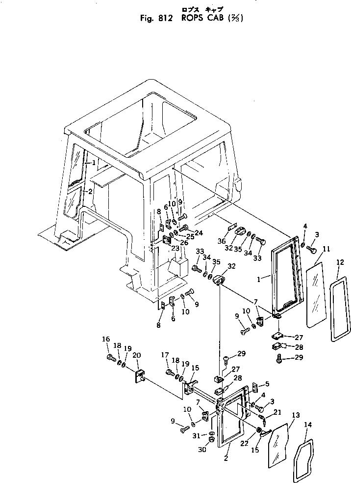 01010-50640 Komatsu БОЛТ