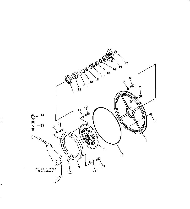 07000-05480 Komatsu О-кольцо