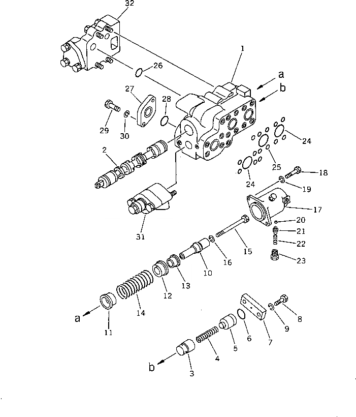 701-30-51002 Komatsu КЛАПАН