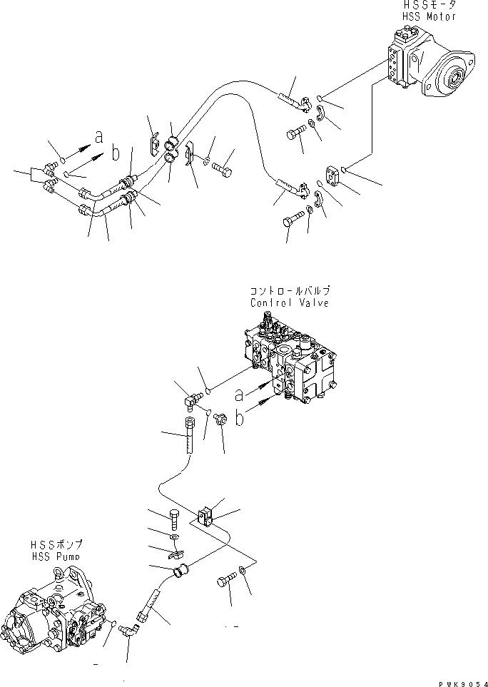 07235-10210 Komatsu УГОЛЬНИК