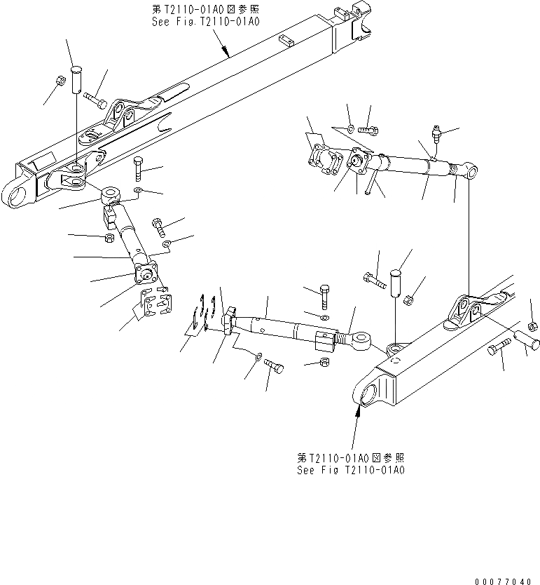 13F-Z27-4150 Komatsu МУФТА