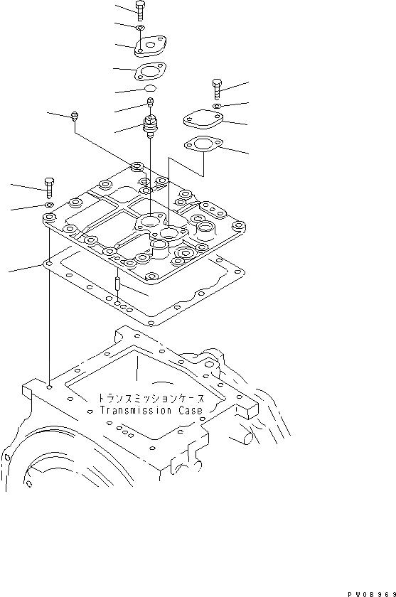 14X-15-15910 Komatsu ПРОКЛАДКА