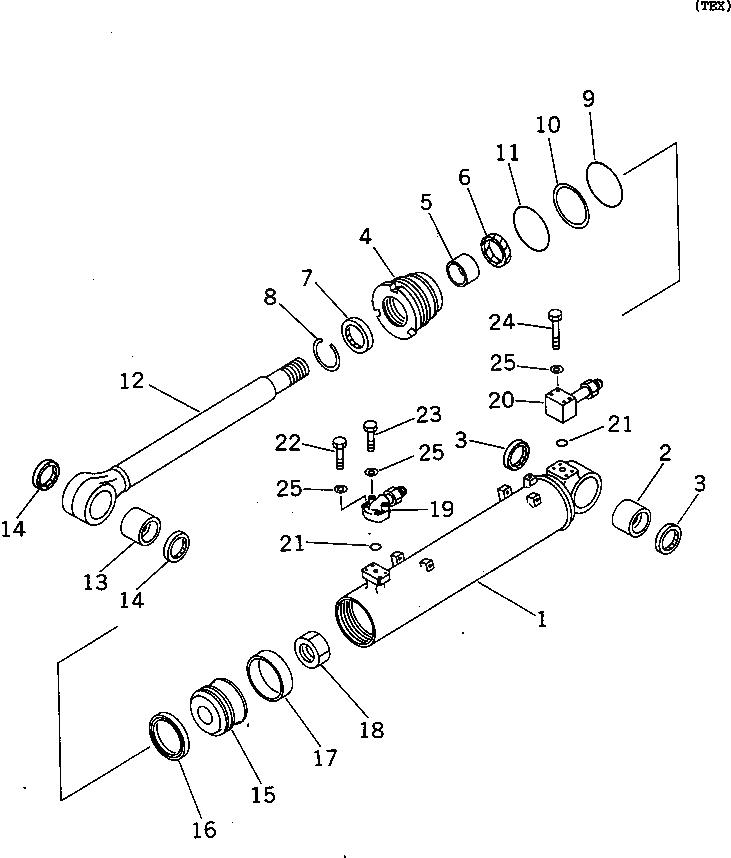 707-98-40020 Komatsu НАБОР УПЛОТНЕНИЙ (РЕЗИНА РЕЗИНА/МЕТАЛЛ)