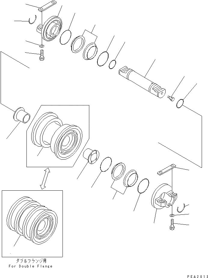 427-15-15910 Komatsu О-кольцо