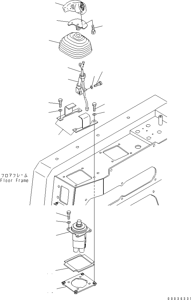 DOWNLOAD KOMATSU D65EX D65PX D65E D65P 12 BULLDOZER
