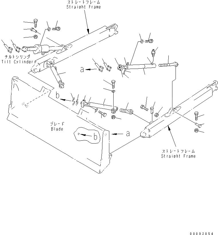 144-920-2122 Komatsu СОЕДИНЕНИЕ