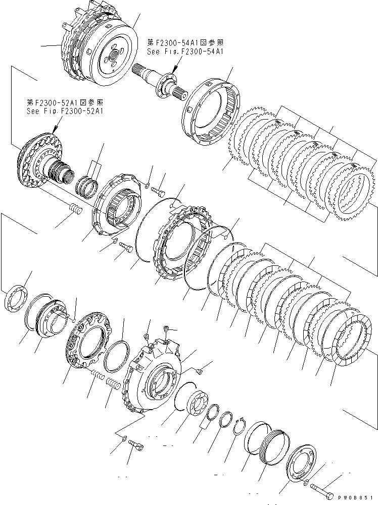 14Y-21-13150 Komatsu ФЛАНЕЦ