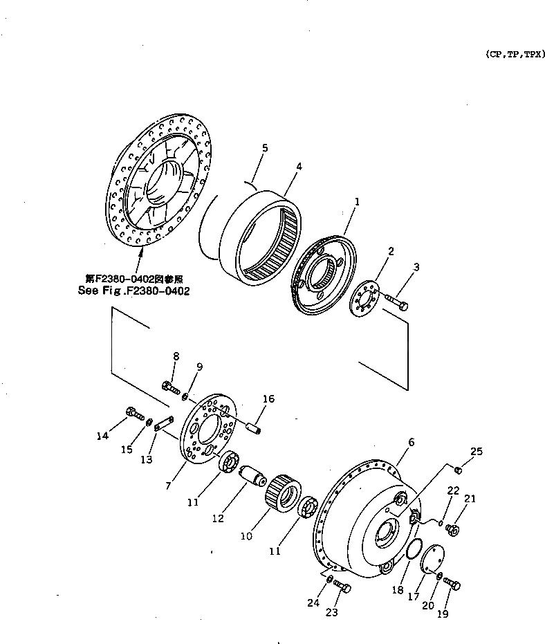 14X-27-11560 Komatsu ФИКСАТОР