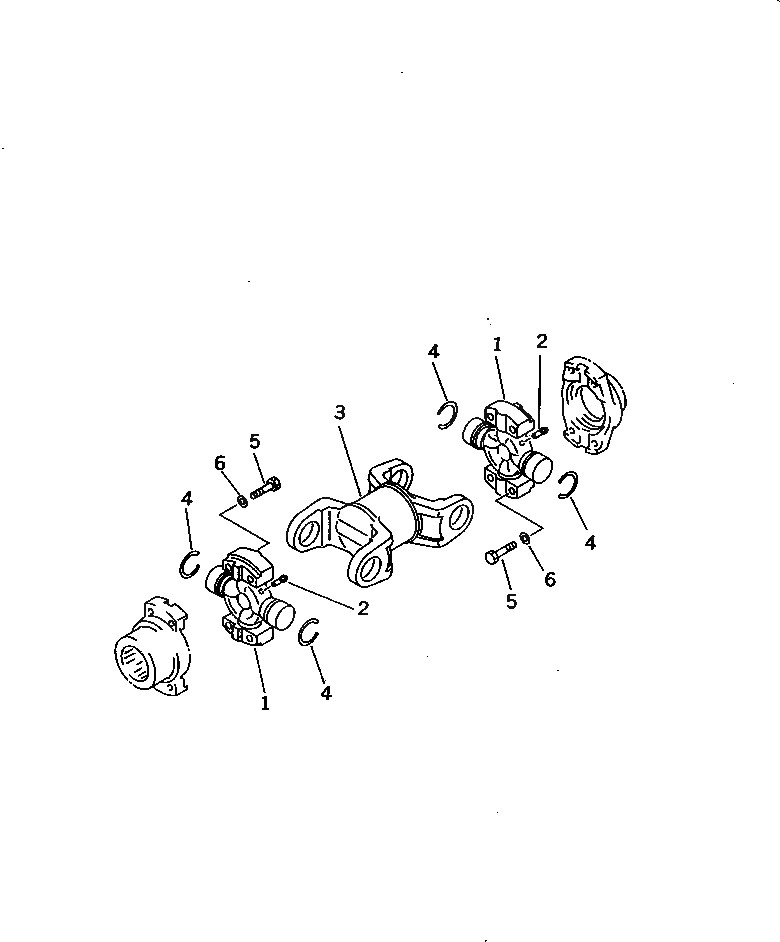 14X-11-11100 Komatsu Кардан в сборе