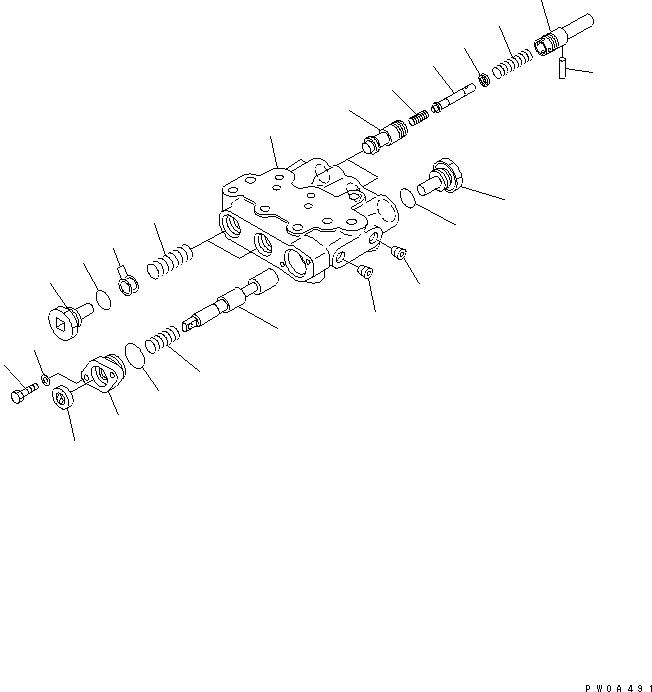 14Z-40-11310 Komatsu КЛАПАН