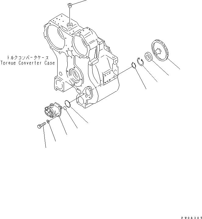 14X-13-14111 Komatsu ШЕСТЕРНЯ