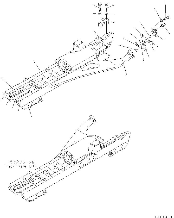 154-30-11810 Komatsu ВТУЛКА