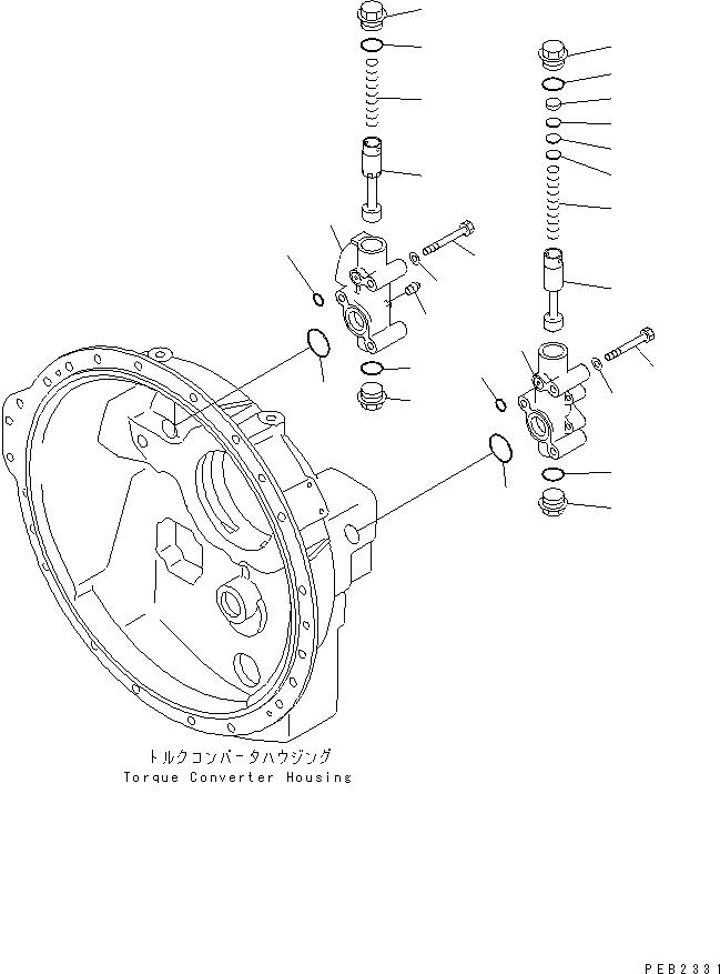 175-13-26410 Komatsu КОРПУС